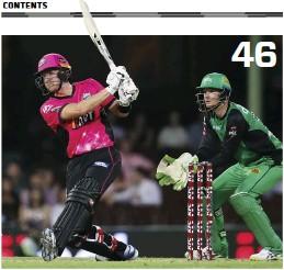 PressReader - ABC Cricket: 2018-10-25 - WBBL & BBL: FOUR TO WATCH