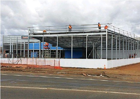 PressReader - The Chronicle: 2017-07-15 - New Bunnings on track