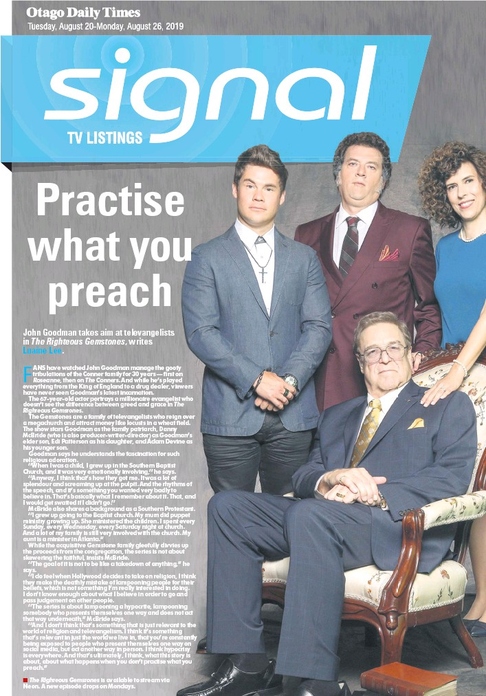 Pressreader Otago Daily Times 2019 08 20 Practise What
