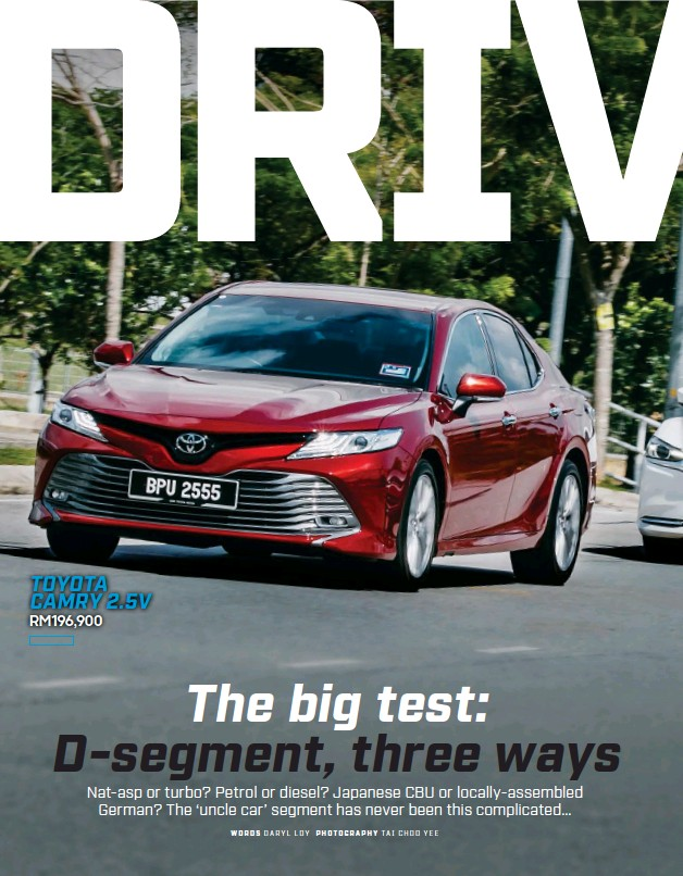PressReader - Top Gear (Malaysia): 2019-07-01 - TOYOTA CAMRY