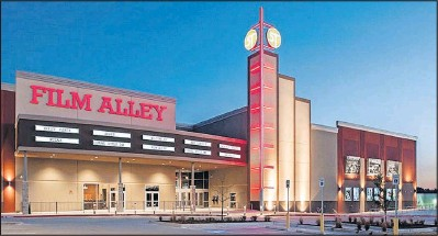terrell movie theatre and bowling alley