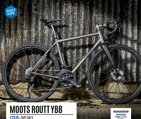 PressReader - Cycling Plus: 2019-05-16 - MOOTS ROUTT YBB