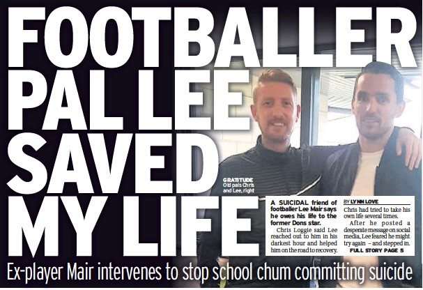 PressReader - Daily Record: 2019-07-11 - FOOTBALLER PAL LEE SAVED MY