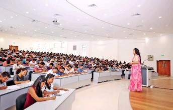 NSBM Lecture Halls Equipped With Modern Technology