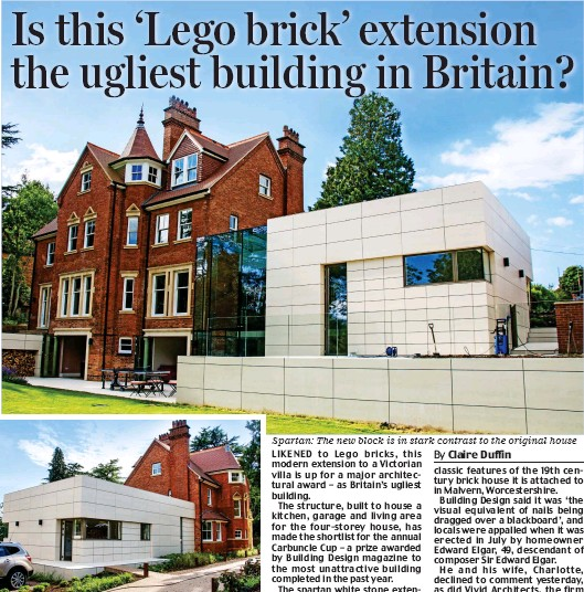 PressReader - Daily Mail: 2017-09-05 - Is this 'Lego brick