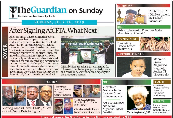 PressReader - The Guardian (Nigeria): 2019-07-13 - N-power