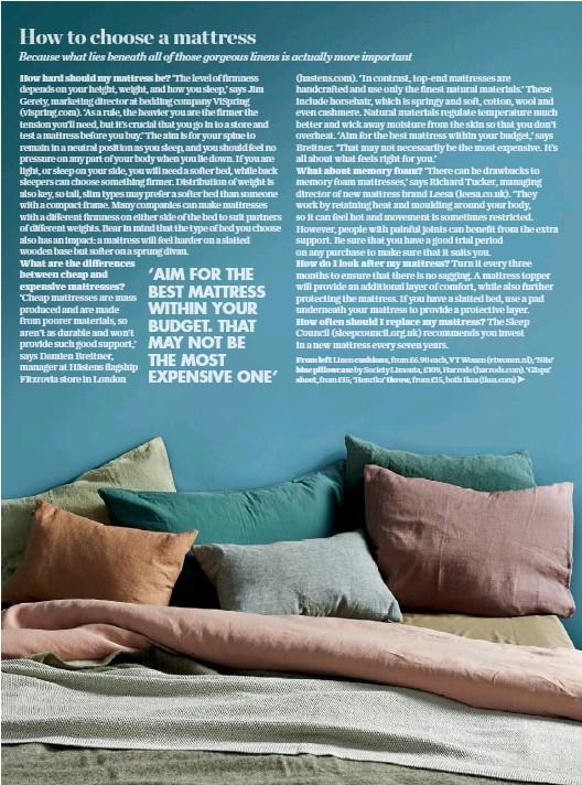 Pressreader elle decoration uk 2016 11 11 how to for Elle decoration bed linen