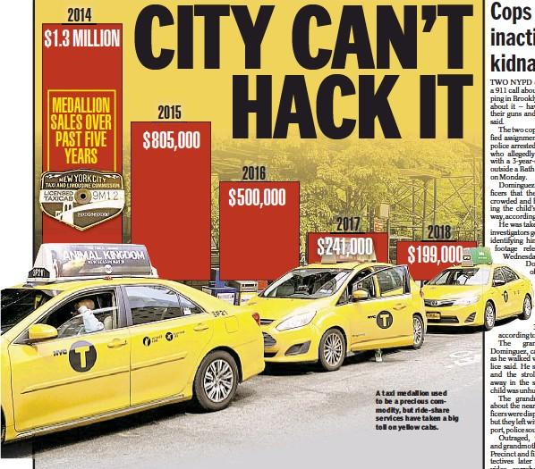 PressReader - New York Daily News: 2018-05-11 - As taxi