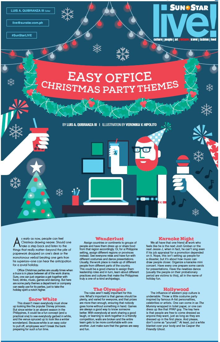Christmas Party Themes.Pressreader Sun Star Cebu 2016 11 16 Easy Office