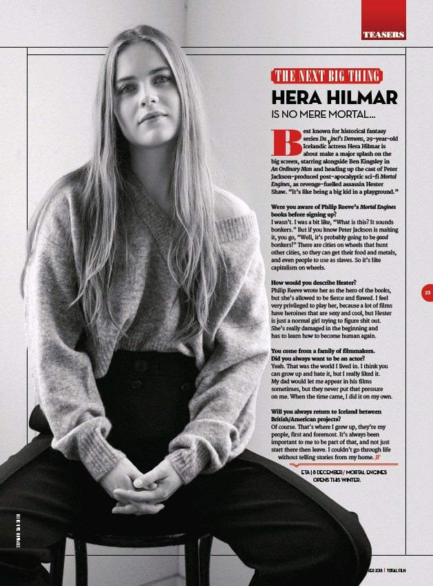 PressReader - Total Film: 2018-10-19 - HERA HILMAR