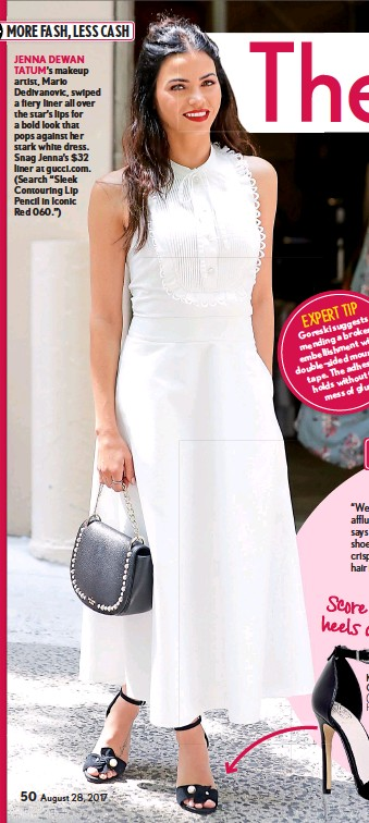 PressReader - Life & Style Weekly: 2017-08-25 - DRESS UP YOUR SANDALS!