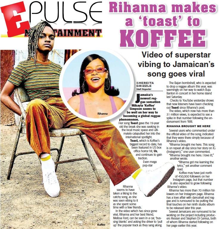 Koffees Hit Song Toast | Asdela