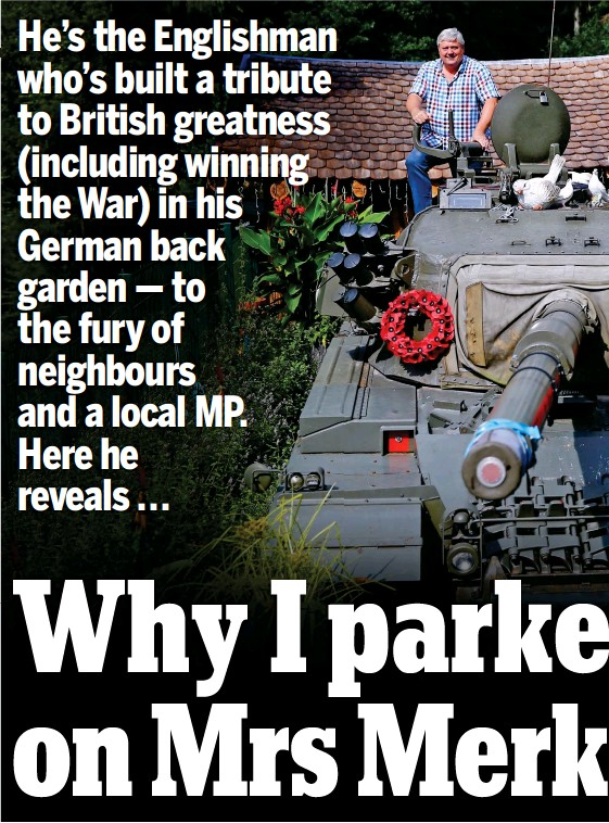 PressReader - Daily Mail: 2017-09-09 - Why I parked my tank on Mrs
