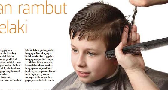 PressReader Berita Harian Potongan Rambut Budak Lelaki - Gaya rambut pendek budak perempuan