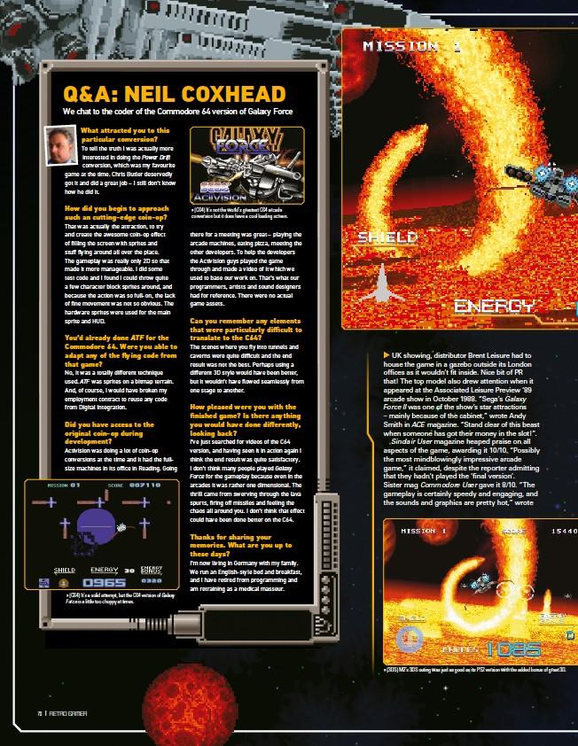 PressReader - Retro Gamer: 2019-01-24 - Q&A: NEIL COXHEAD