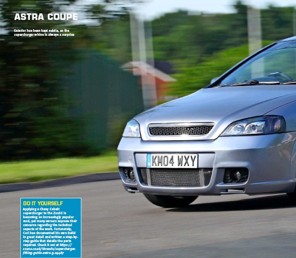 PressReader - Performance Vauxhall: 2014-07-31 - ASTRA COUPE