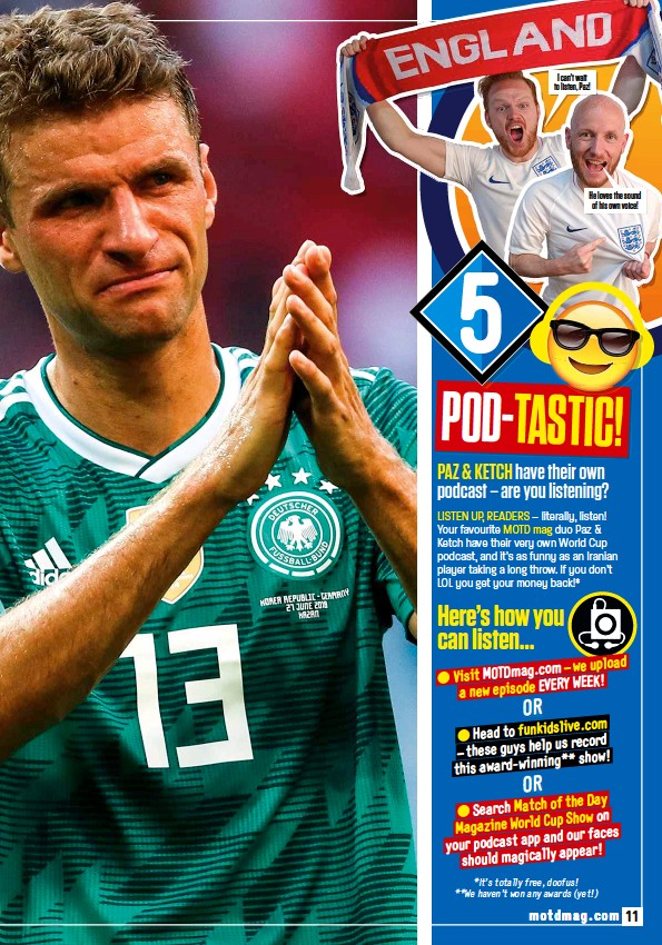 PressReader - Match of the Day: 2018-07-02 - WORLD CUP CURSE!