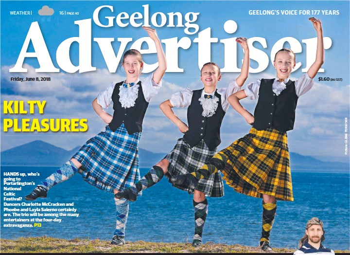 PressReader - Geelong Advertiser: 2018-06-08 - KILTY PLEASURES