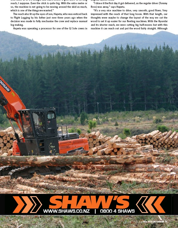 PressReader - New Zealand Logger: 2019-04-23 - SHAW'S WIRE ROPES