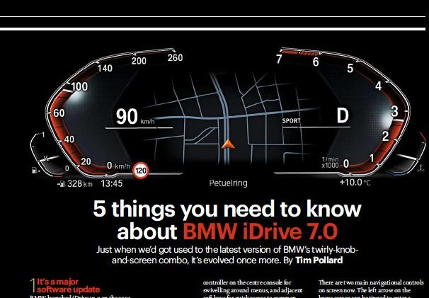 PressReader - CAR (UK): 2018-07-01 - BMW iDrive reinvented