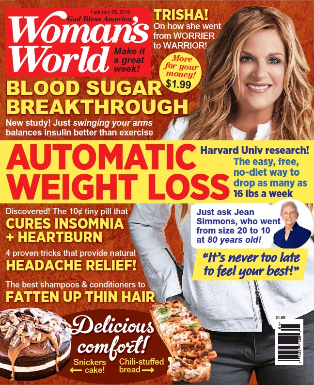 PressReader - Woman's World: 2019-02-18 - AUTOMATIC WEIGHT LOSS