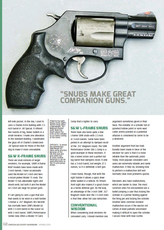 PressReader - Concealed Carry Hand Guns: 2019-02-01 - DON'T