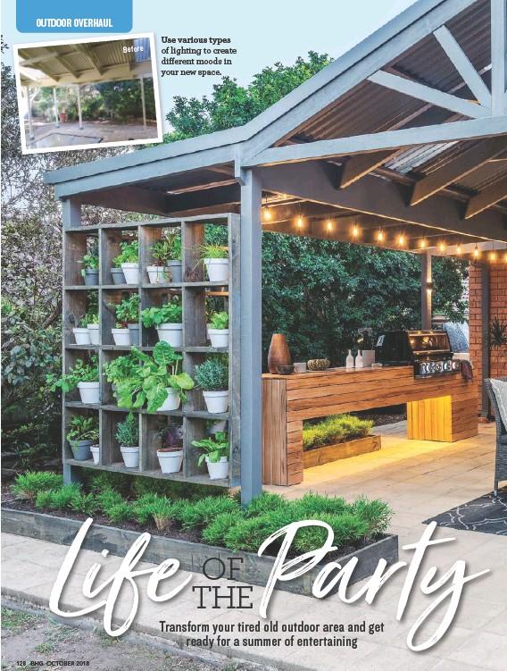 Cool Pressreader Better Homes And Gardens Australia 2018 10 Machost Co Dining Chair Design Ideas Machostcouk