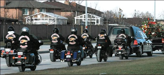 PressReader - Montreal Gazette: 2006-12-09 - Hells Angel funeral