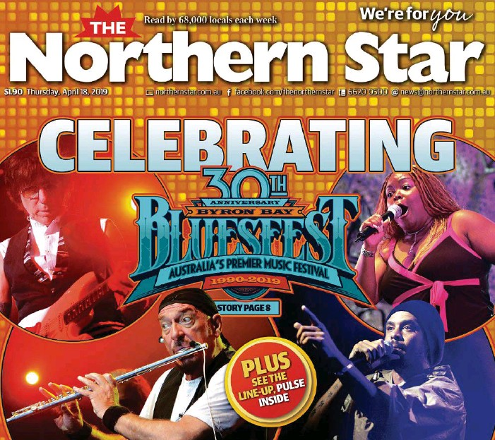 PressReader - The Northern Star: 2019-04-18 - CELEBRATING 30TH