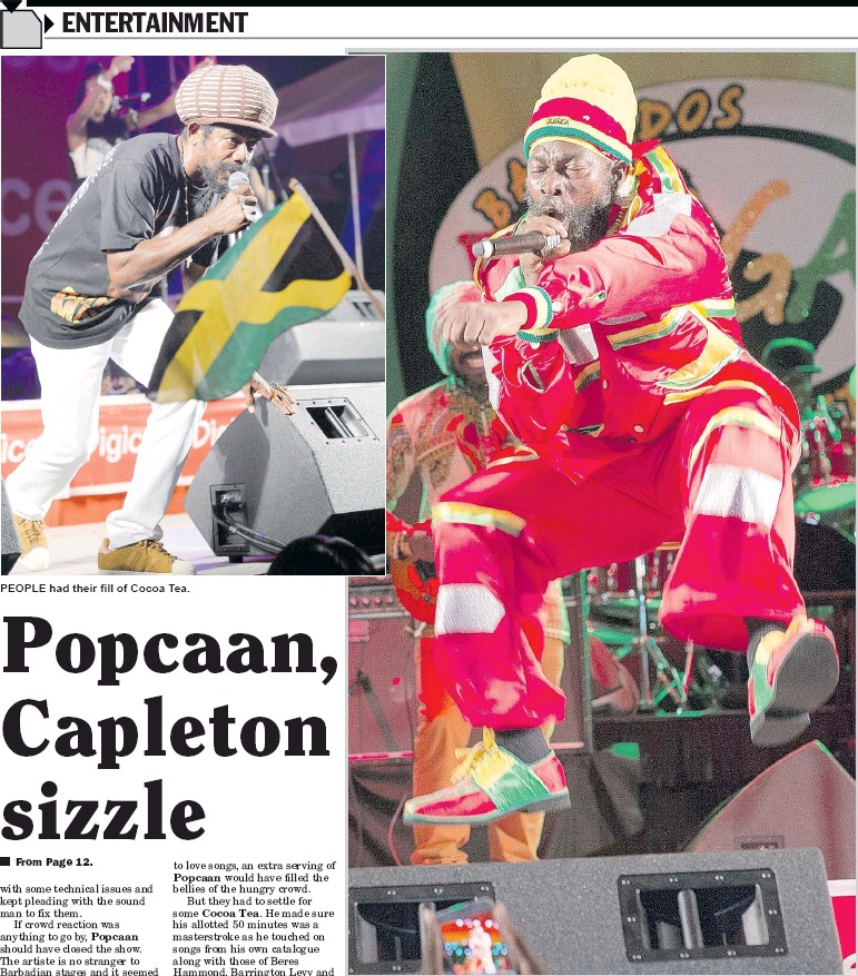 PressReader - Daily Nation (Barbados): 2017-05-02 - Popcaan