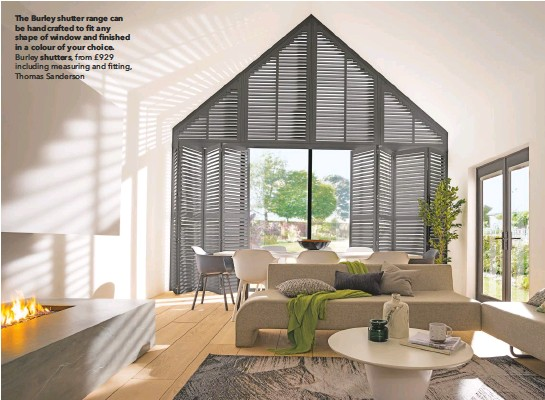 Thomas Sanderson Shutters >> Pressreader Country Homes Interiors 2019 10 01 The