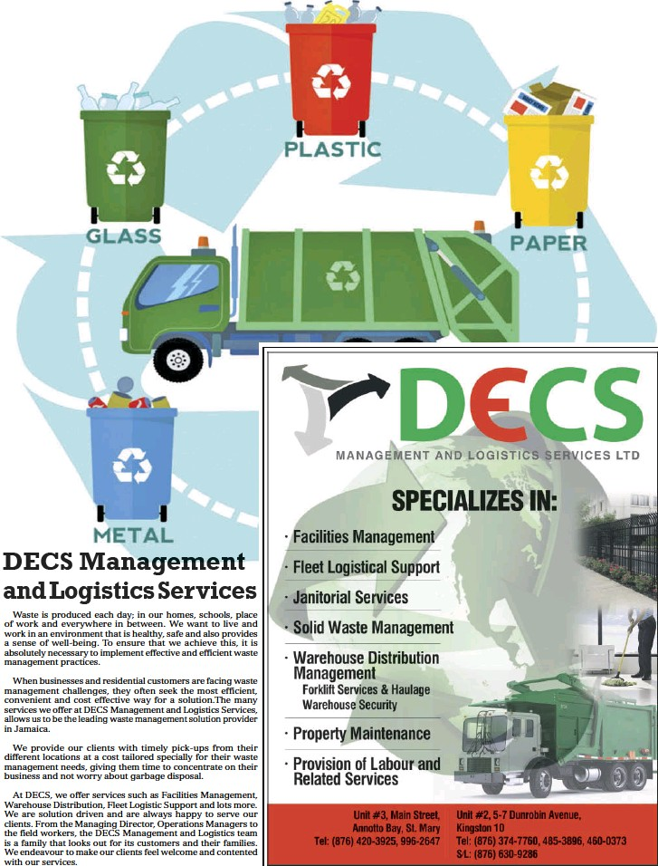 PressReader - Daily Observer (Jamaica): 2019-06-18 - DECS Management