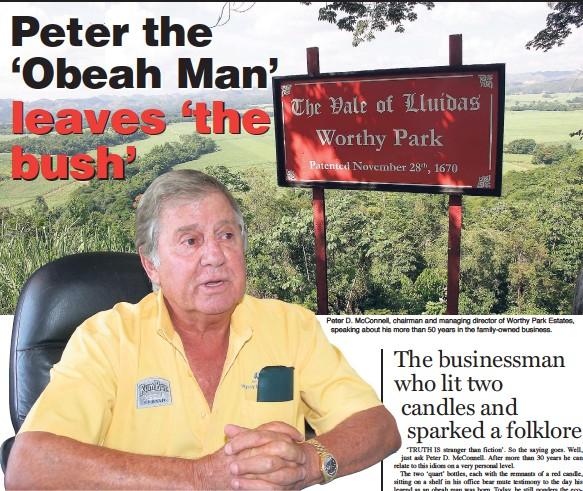 PressReader - Jamaica Gleaner: 2015-12-27 - Peter the 'Obeah