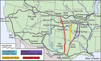 PressReader - EQUUS: 2018-08-21 - CATTLE DRIVES AND THE ... on cattle trail history, cattle trail jobs, cattle drive maps, cattle trail clip art, cattle trail names,