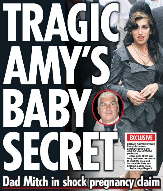 Resultado de imagen de mitch winehouse amy pregnant