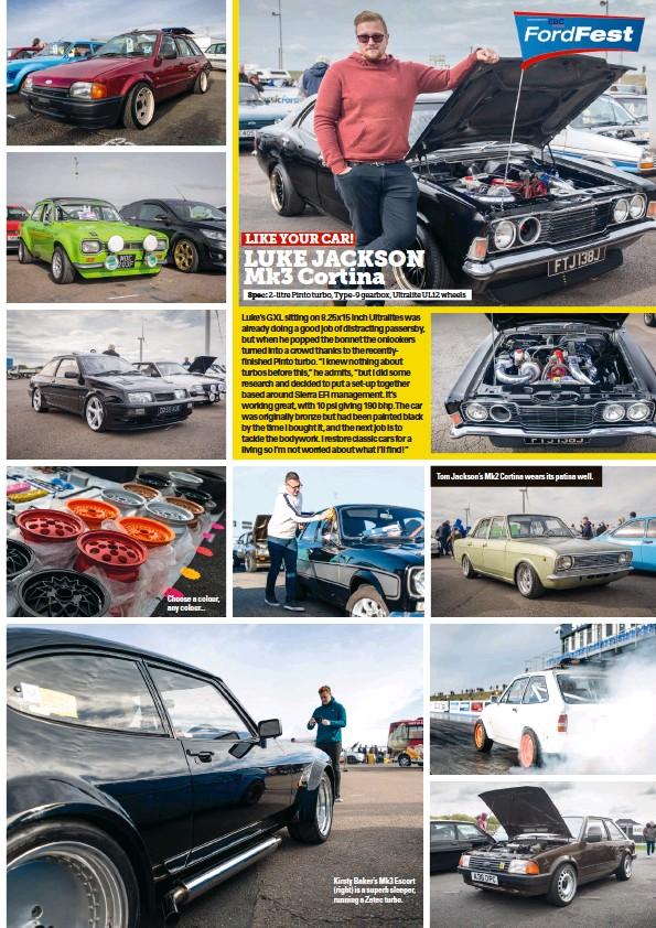 PressReader - Classic Ford: 2018-12-01 - LUKE JACKSON Mk3 Cortina