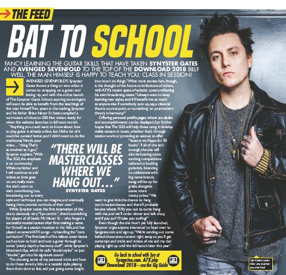 PressReader - Kerrang! (UK): 2017-11-18 - BAT TO SCHOOL