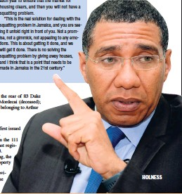 PressReader - Jamaica Gleaner: 2018-05-27 - SQUATTING
