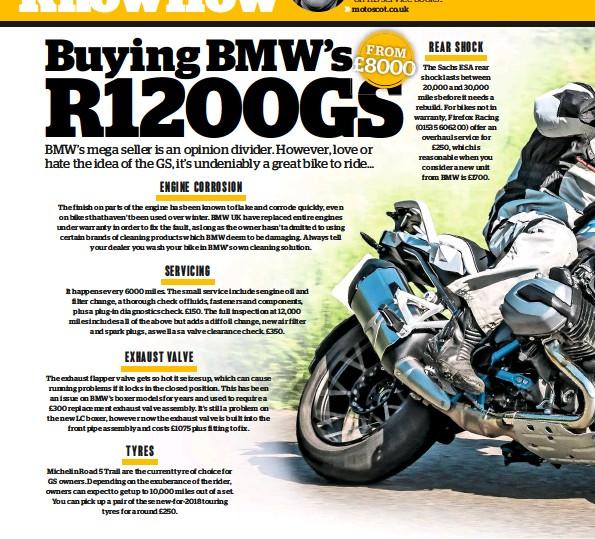 PressReader - BIKE (UK): 2018-12-01 - BUYING USED BMW R1200GS