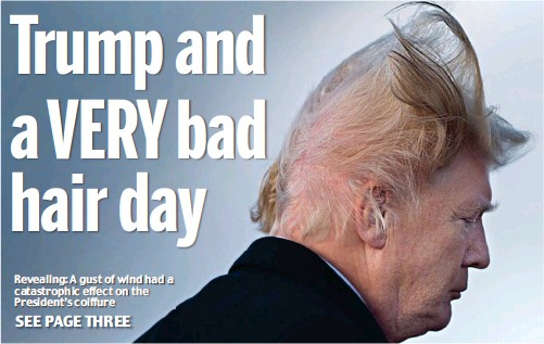 Pressreader Daily Mail 2018 02 08 Trump And A Very