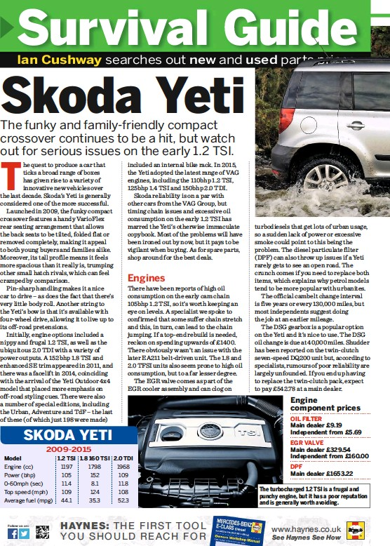 PressReader - Car Mechanics (UK): 2016-09-15 - Skoda Yeti