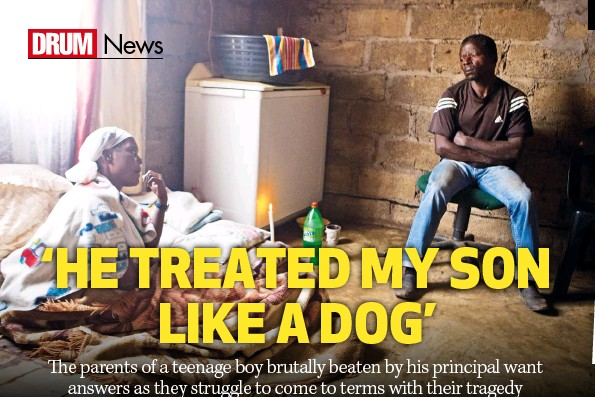 PressReader - DRUM: 2017-04-06 - 'HE TREATED MY SON LIKE A DOG'