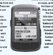 PressReader - Cycling Weekly: 2019-08-22 - Wahoo Elemnt Bolt