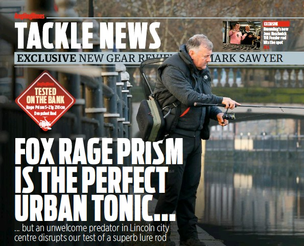 PressReader - Angling Times (UK): 2018-01-23 - On the bank with the