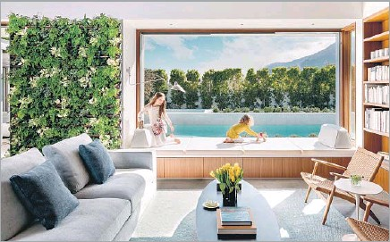 PressReader - Los Angeles Times: 2019-02-09 - A PREFAB LIVE ... on laneway house designs, zero entry home plans, zero energy water heating system, zero clothing, zero landscaping designs, zero energy house designs, zero lot homes, self-sustaining underground house designs,