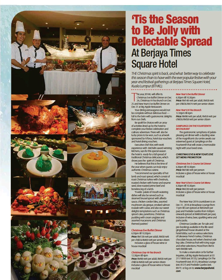 Sensational Pressreader New Straits Times 2018 12 02 Tis The Interior Design Ideas Ghosoteloinfo