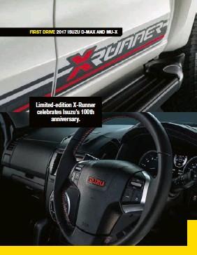 PressReader - 4 x 4 Australia: 2017-04-01 - FIRST DRIVE: ISUZU D-MAX