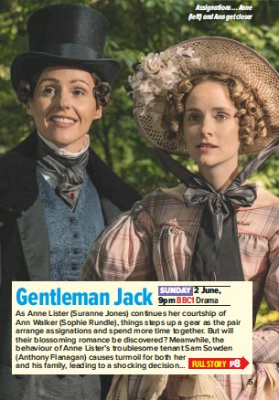 PressReader - What's on TV: 2019-06-01 - Gentleman Jack