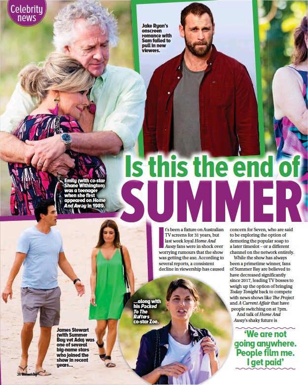PressReader - Woman's Day (Australia): 2019-07-15 - Is this the end
