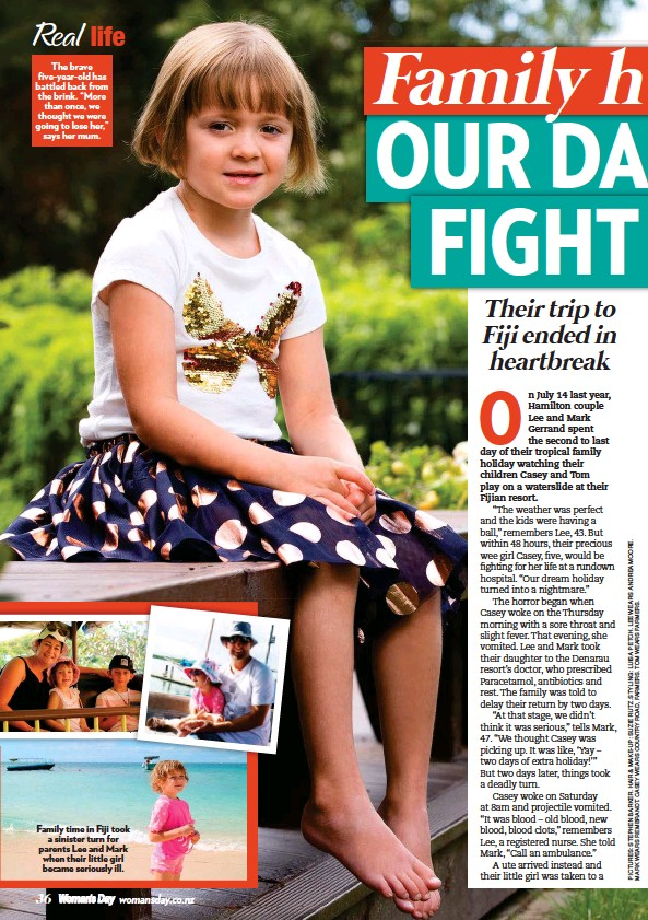 PressReader - Woman's Day (NZ): 2017-02-13 - Real-life reads